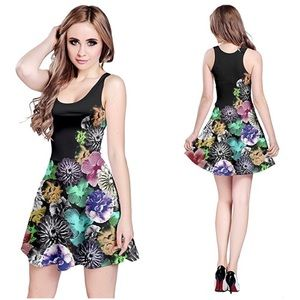 CowCow Floral Skater Dress